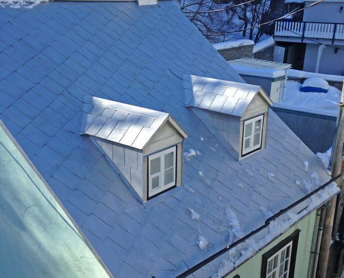 Service peinture exterieure toiture metal